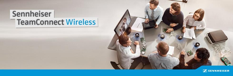 Sennheiser TeamConnect Wireless | Suomen Kongressitekniikka Oy