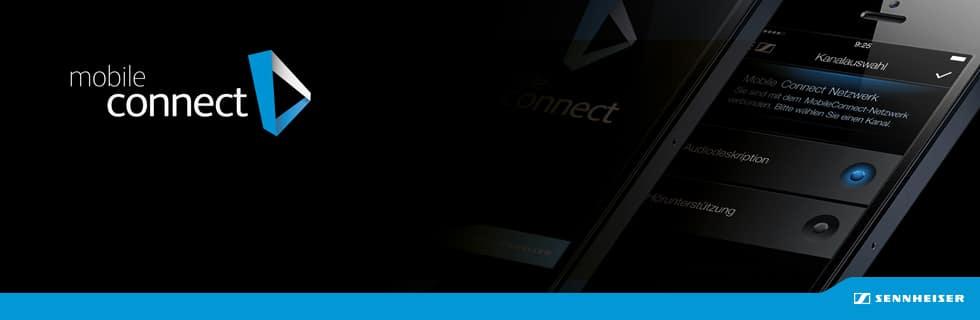 Sennheiser MobileConnect | Suomen Kongressitekniikka Oy